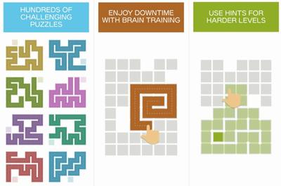 Fill 一筆書きパズルゲーム パズルアプリ2