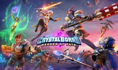 RPGアプリ クリスタルボーン ヒーローズ・オブ・フェイト